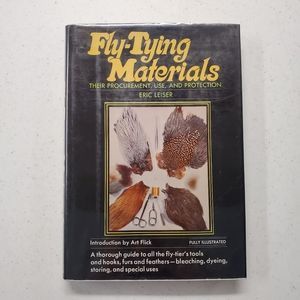 VTG Fly Tying Materials Eric Leiser 1973 book